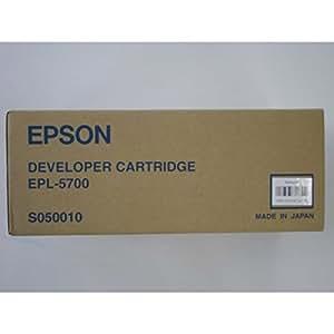 Genuine Epson S050010 Black Toner Cartridge; EPL-5700i/EPL-5800; Sealed Box