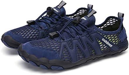[JINLUN] ウォーターシューズ 靴紐タイプ 水陸両用 アクアシューズ アウトド アレジャー 通気性 マリンシューズ 超軽量 旅行 夏