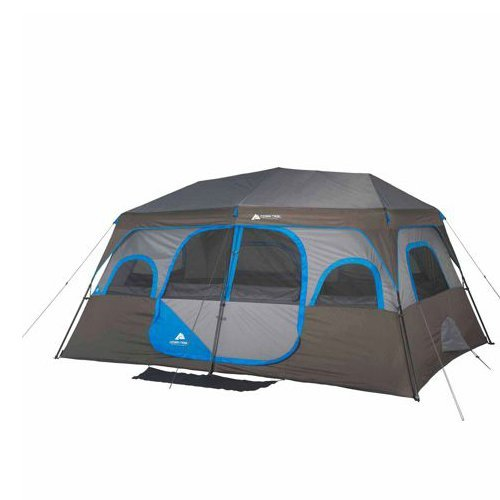 Ozark Trail 14′ x 10′ Instant Cabin Tent Sleeps 10 People Outdoor Camping Review