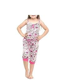 Andreita Jump Suit con Estampado de Flores
