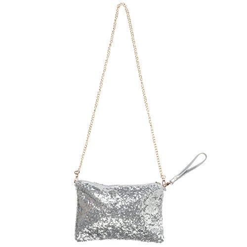 OULII Glitter Bag Handbag...