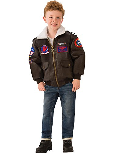 - Rubie's Top Gun Child's Costume Bomber Jacket, Large