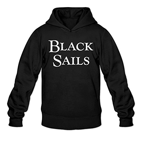 Suicide Squad Cast In Costume (MARY Men's Black Sails Classic Logo Costume Sweatshirt Black)