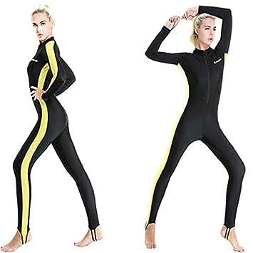 Semoss UV Protection Neoprene Wetsuit Womens Full Length Long Sleeve  Swimming Suit Swimwear for Sailing Paddleboarding ed849ca39