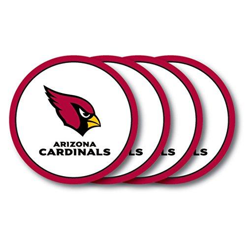 - NFL Arizona Cardinals Vinyl Coaster Set (Pack of 4)