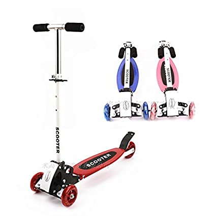 Amazon.com: Niño Scooter Triciclo Pedal de metal cuatro ...