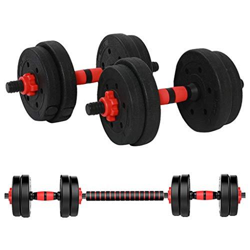 HOMBOM Adjustable Fitness Dumbbells Set, Adjustable Weight to 22Lbs, Home Fitness Dumbbell Combination for Men and Women…