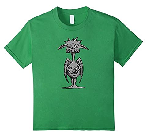 unisex-child Funny Gargoyle T-Shirt For Gothic Architecture Lovers 12 Grass (Funny Gargoyles)