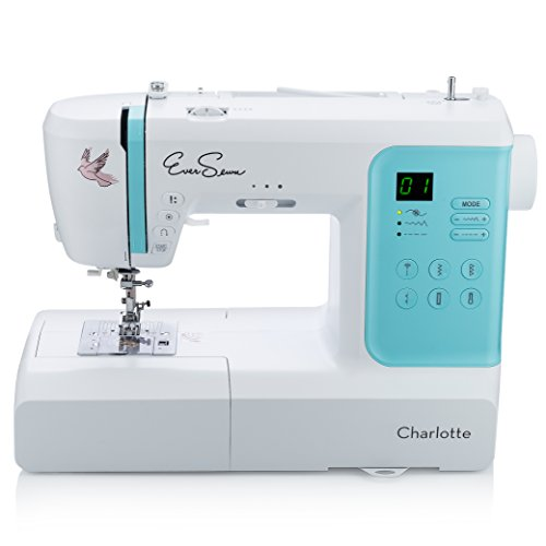 EverSewn Charlotte: 70-Stitch Computerized Sewing Machine, Professional Quilting & Free Motion...