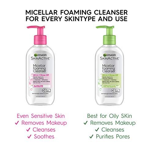 Garnier SkinActive Micellar Foaming Face Wash, For Oily Skin, 6.7 fl oz 4