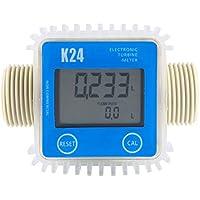 ACAMPTAR 1 Pieza K24 LCD Medidor De Flujo