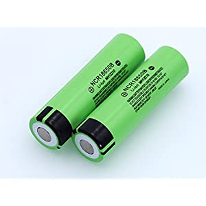 Fashionwu Exquisite 3.7V 3400mAH 18650 Rechargeable Lithium Battery for Panasonic Flashlight Batteries