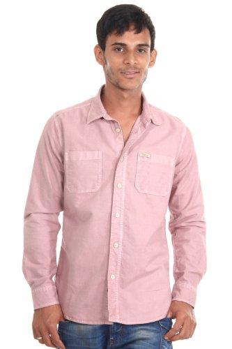 REPLAY Langarmhemd slim fit (lachs)