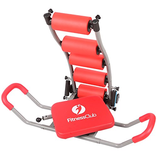 Abdominal+Machine Products : H.B.S AB Exerciser Twister Total Complete Abdominal Trainer Fitness Exercise Workout Machine