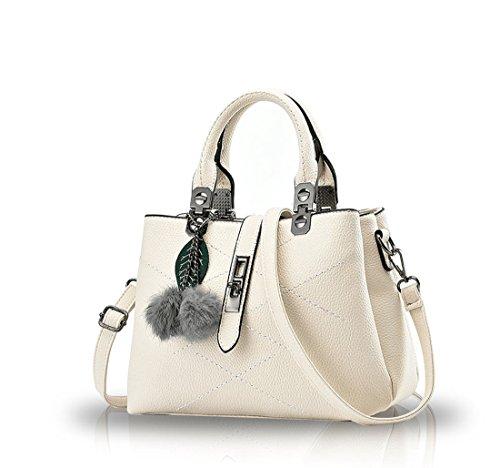 Nicole&Doris 2016 new wave packet Messenger bag ladies handbag female bag handbags for women(White)