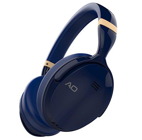 AO Active Noise Cancelling Headphones Wireless Bluetooth Headphones Over Ear - M5