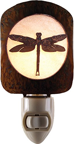 Laz NL Dragonfly Nightlight HP, Honey Pinion (Dragonfly Night Light)