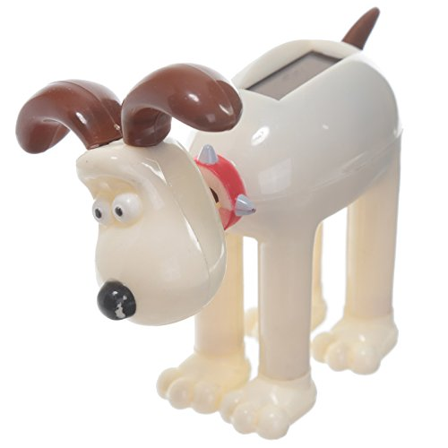 Solar Powered Pal GROMIT Wallace Flip Flap Dancing Toy Collectable Bobble  Dog
