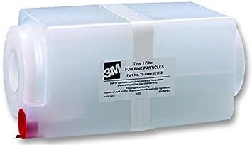 Filtro tipo 2 para 3M TONER VAC tipo de filtro de accesorio para ...