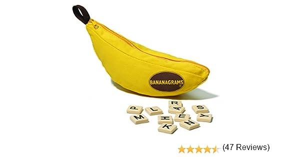 Game Factory 646177 Bananagrams Classic, el Mejor Juego de Palabras para Toda la Familia, edición en alemán: Amazon.es: Juguetes y juegos