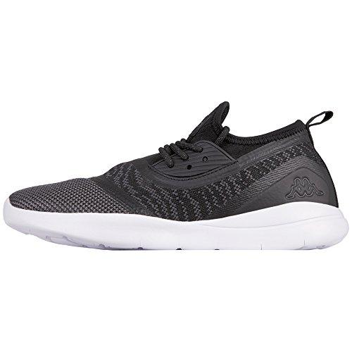 Black 1116 Noir Kappa grey Layer Adulte 1116 Baskets grey Black Mixte UUP1xY8
