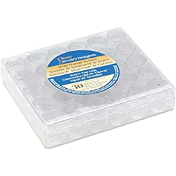 Darice JD Bead Storage System w/30 Containers