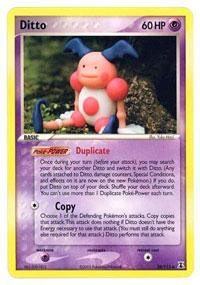 Pokemon - Ditto (38) - EX Delta Species - Reverse Holofoil