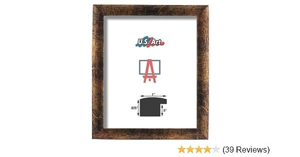 "US ART Frames 1/"" Dark Bronze Nugget MDF Wall Decor Picture Frame S-22/"""