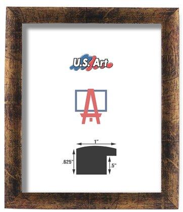 Amazon.com - US Art 24x36 Custom Bronze Finish Picture Poster ...