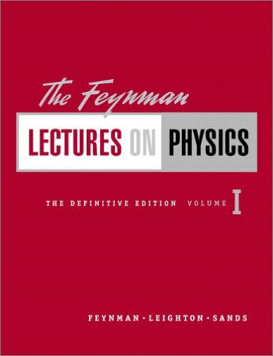 The Feynman Lectures on Physics, Vol. 1: Mainly Mechanics, Radiation, and Heat, 2/e (Hardcover)-cover