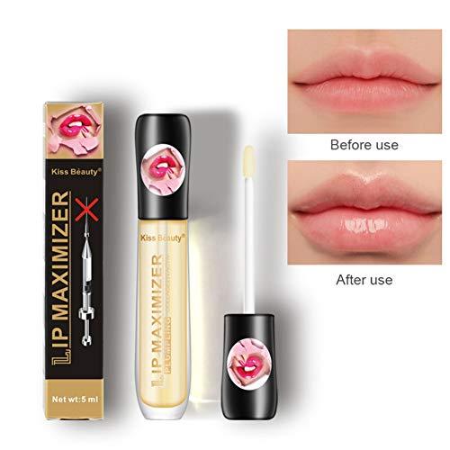 Allouli Transparent Lip Plumper Oil Lip Enhancer Enlarger Lip Gloss Lip Care Moisturizing Smooth Fine Lines