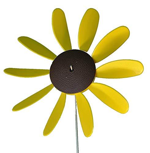 Beloit Plastics, LLC Classic Spinning Daisy (x6 case) SUNFLOWER, 12 inch dia