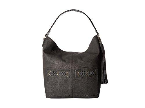 Steve Madden Bcarlson Hobo Shoulder Bag - Charcoal (Stud Hobo Purse)