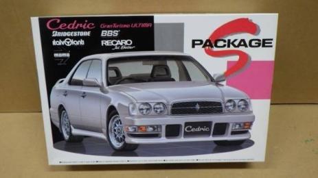 アオシマ 1/24 セドリック Y32 グランツーリスモ アルティマ Sパッケージの商品画像