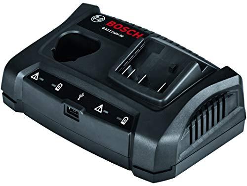 - Bosch GAX1218V-30 18V/12V Dual-Bay Battery Charger