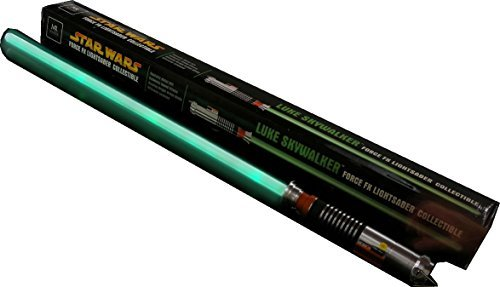 Star Wars MASTER REPLICAS Return of the Jedi Episode VI Green LUKE SKYWALKER JEDI KNIGHT FORCE FX LIGHTSABER Rare ()
