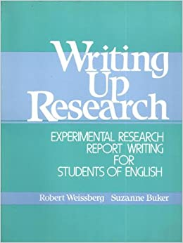 Writing up research