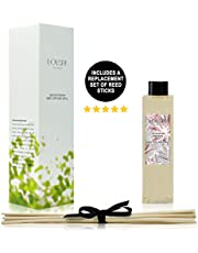 LOVSPA Reed Diffusers Oil Refill with Replacement Scent Sticks | Choose from Many Fragrances | Made with Natural Essential Oils | Made in The USA
