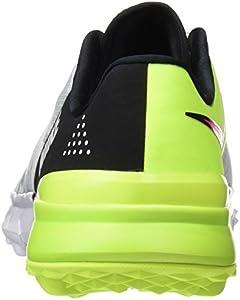 a4796b0274b4 Nike Men s Fi Flex Ankle-High Golf Shoe. Nike Men s Fi Flex White Racer Pink -Black-Volt ...