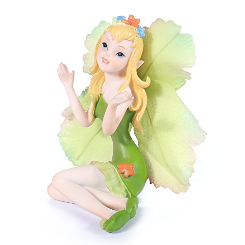 Cicilia Virtus Miniature Fairy Garden Figurines Statues-Little Angele Lady Home Decorative Accessories by Review