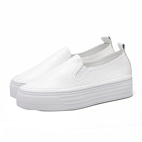 Plateforme Blanc Inconnu 1TO9 Sandales Femme Mmsg00056 OU8tq8nH