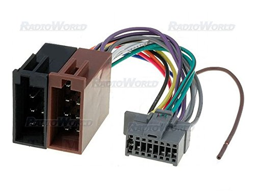 ISO Wiring Harness Stereo Radio Connector Adaptor Cable: Amazon.co.uk: Electronics
