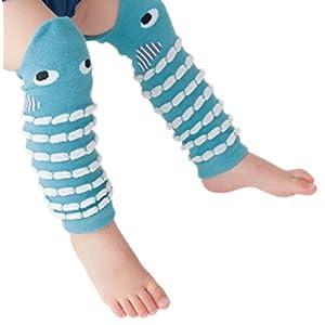 "Baby and Toddler Leg Warmers Leggings Kneepads 3.15""..."