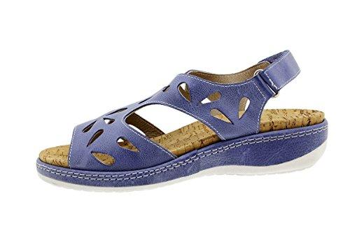 Jeans Sandales À Piesanto 180907 Amovible Semelle Femme Tucson Confort Chaussure SzRqwxq7