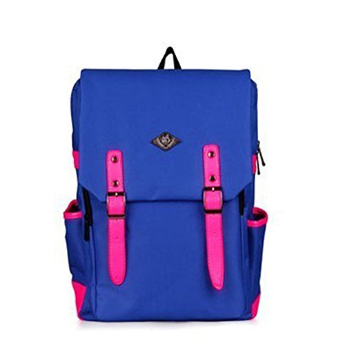 De Adulto Bolsa Pink Escolar Wicky Blue Poliéster Ls Unisex qBtpz