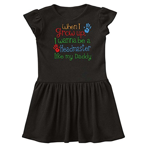 inktastic Headmaster Like Daddy Toddler Dress 5/6 Black 244f7