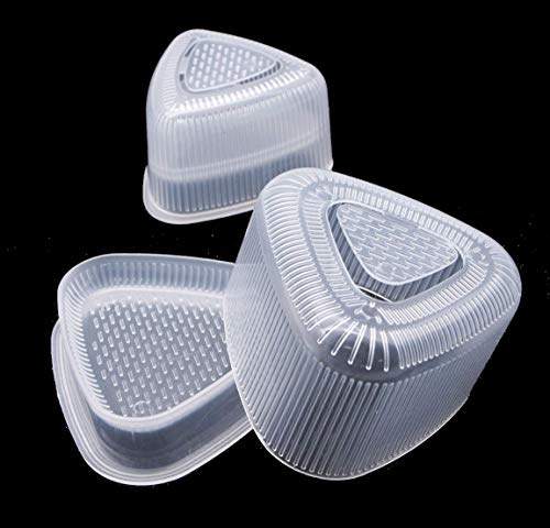- Happy Sales HSSM-TRAGL2, Triangle Sushi Mold Rice Ball Maker 2 pc set