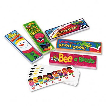 TREND® Bookmark Combo Celebrate Reading Variety Pack #1 BOOKMARK,VARIETY 8205 (Pack of5)