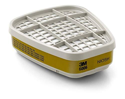 3M Multi Acid Gas/Organic Vapor Cartridge 6006, Respiratory Protection 60/Case ()