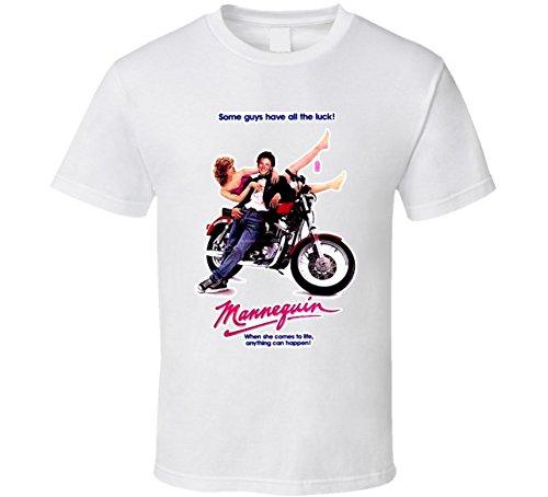 (Mannequin Classic 80s Movie T Shirt L White)